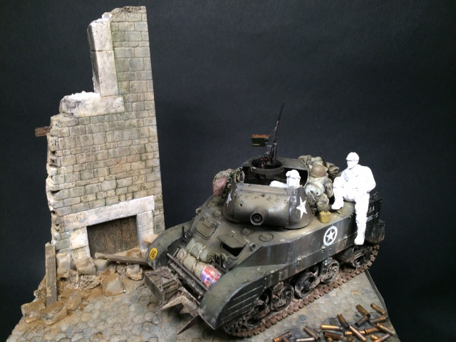 """""""Le laxatif"""" - M8 Howitzer unité """"Hell on Wheels"""" - 2nd Armored division, Normandie - Tamiya 1/35 747395IMG3475"""