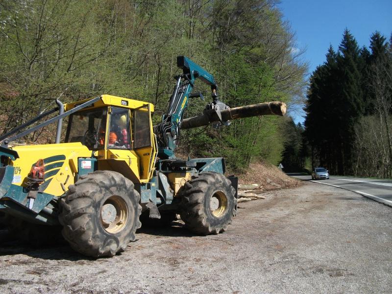Du débardage dans les Vosges, à Hauteur de Schirmeck 748004015