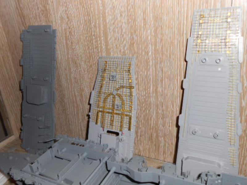 PA AKAGI 1/350 de chez Hasegawa PE + pont en bois par Lionel45 749148atrier019