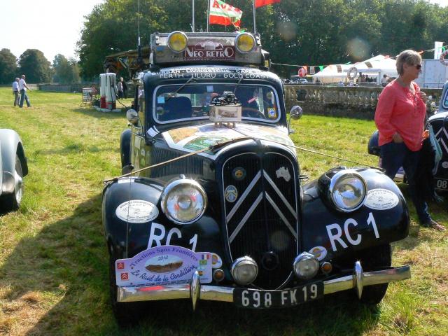 80 ans de bons et loyaux service la TRACTION avant Citroën 750693P1190778