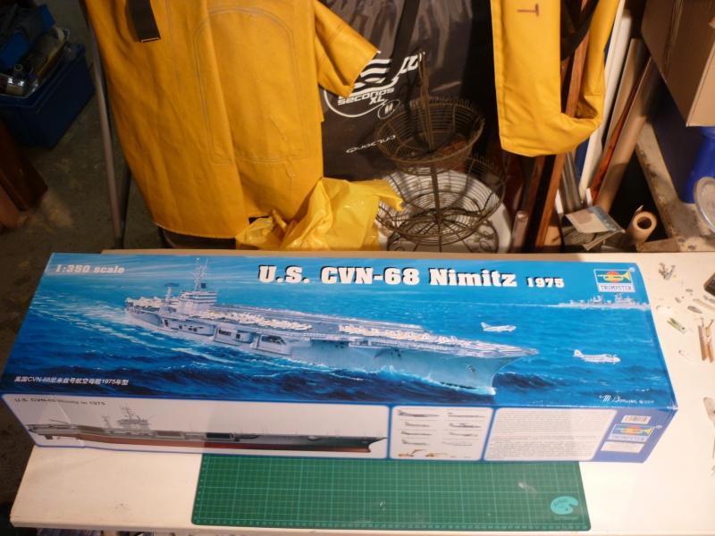 CVN Nimitz 1/350 Trumpeter 751525P1040792