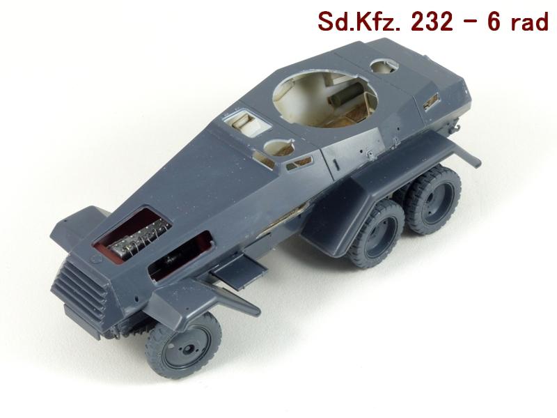Sd.Kfz. 232 6 Rad - France 1940 - Italeri 1/35 752020P1030971