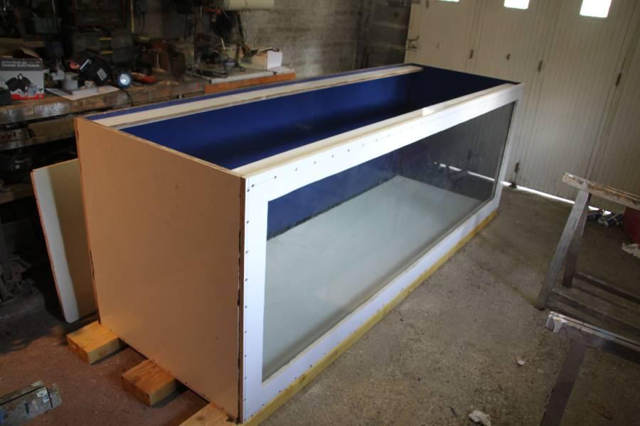 réalisation d'un aquarium en bois de 2000L 753283PXRIMG0011