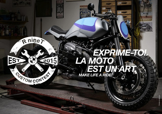 BMW Motorrad France lance le R nineT Custom Contest. 756790P90175800