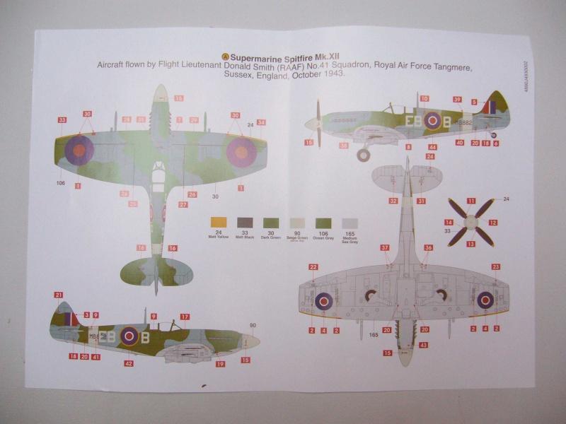 Spitfire XII du 41 RAF Sqn le 7 juin 1944, Airfix (projet AA) 758065spitxii4