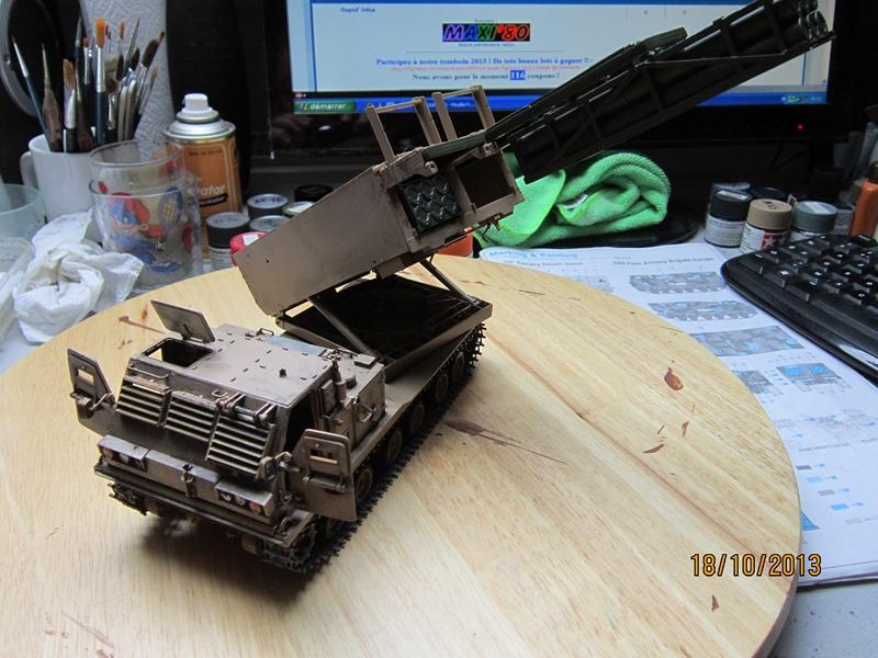 M270 RMLS w/M26 ROCKET PODS 1/35 de modern AVF series 759867IMG1716800x600