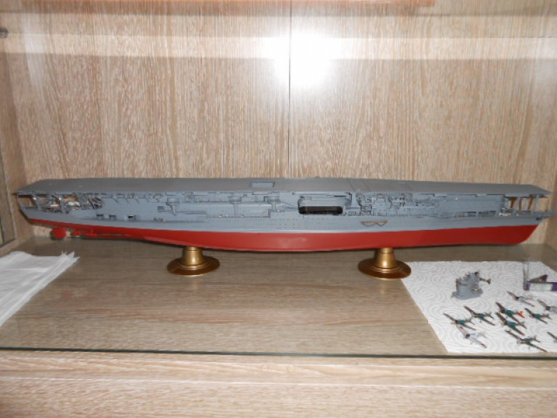 PA AKAGI 1/350 de chez Hasegawa PE + pont en bois par Lionel45 - Page 4 760685002
