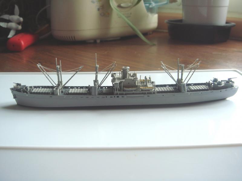 Le SS jeremiah o'brien liberty ship au 1/700 Trumpeter 761826liberty01
