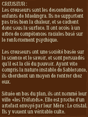 Sableronce (0.0.2) 763452DescriptionCreuseur