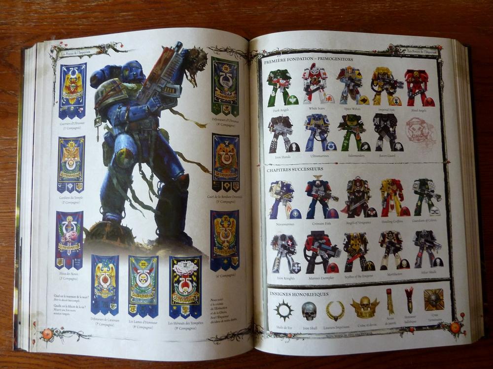 Le Livre de Règles de Warhammer 40,000 - V6 (Topic officiel) 764072Livre5