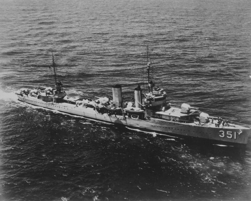 USN DESTROYERS CLASSE MAHAN 765325USSMacdonough