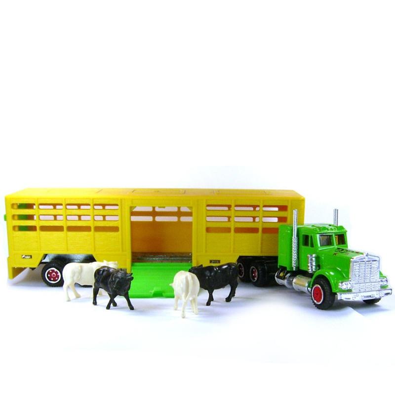 N°614 Kenworth + Semi Transport d'animaux   7681657913