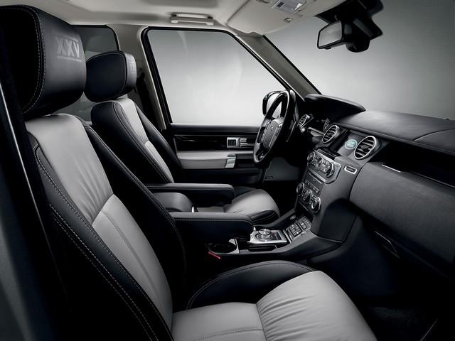 Land Rover célèbre les 25 ans du Discovery avec l'édition spéciale 'XXV' 769186landroverdiscoveryeditionlimitee8