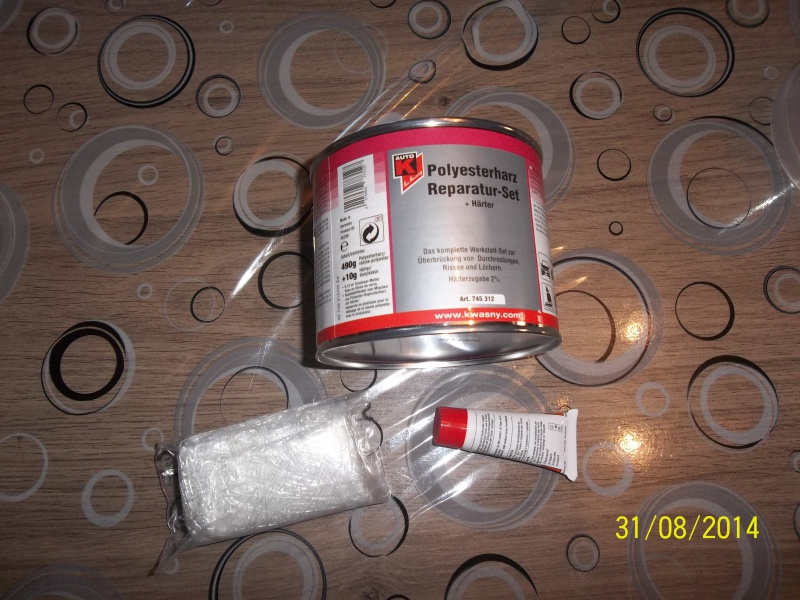 réparation carénage fibre  7695251000901