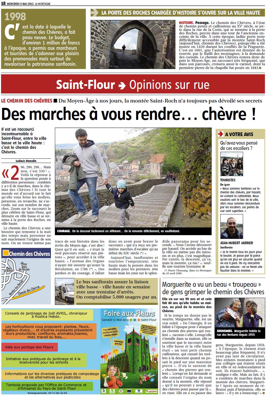 Le Chemin des Chèvres (Saint-Flour) 772527LeChemindesChvres
