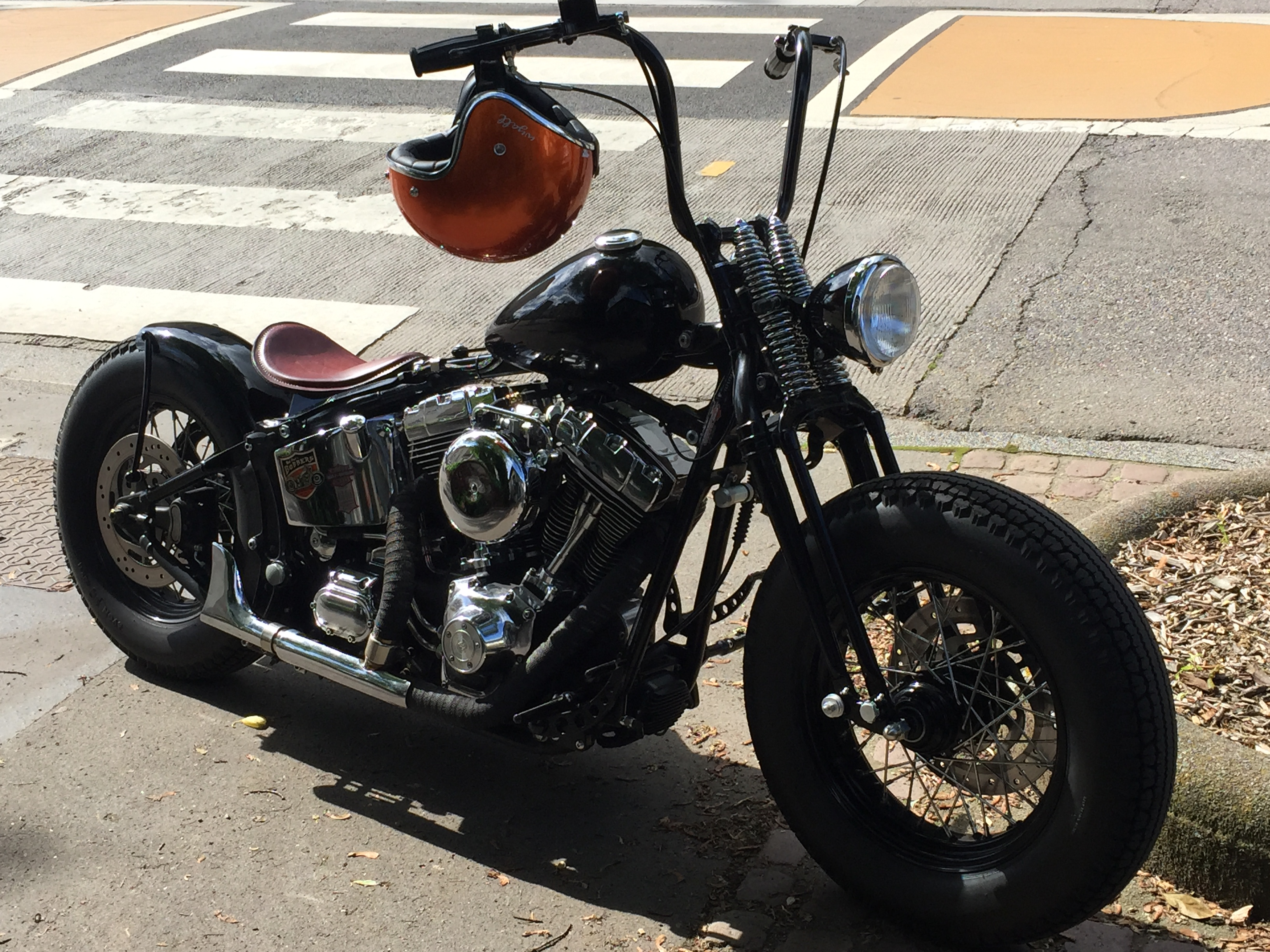 mon projet softail oldschool - Page 5 772822IMG8630