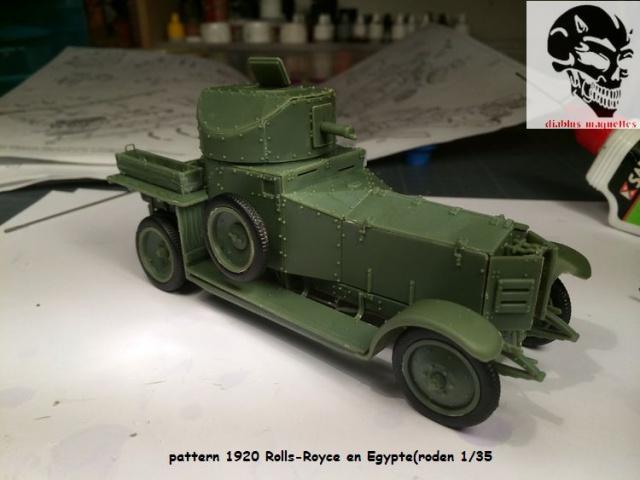 Pattern 1920 Rolls-Royce MK1 en Egypte - (Roden 1/35) 773209pattern1920019