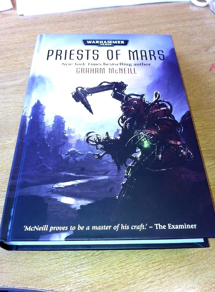 Priest of Mars de Graham McNeill 777474priestofmars