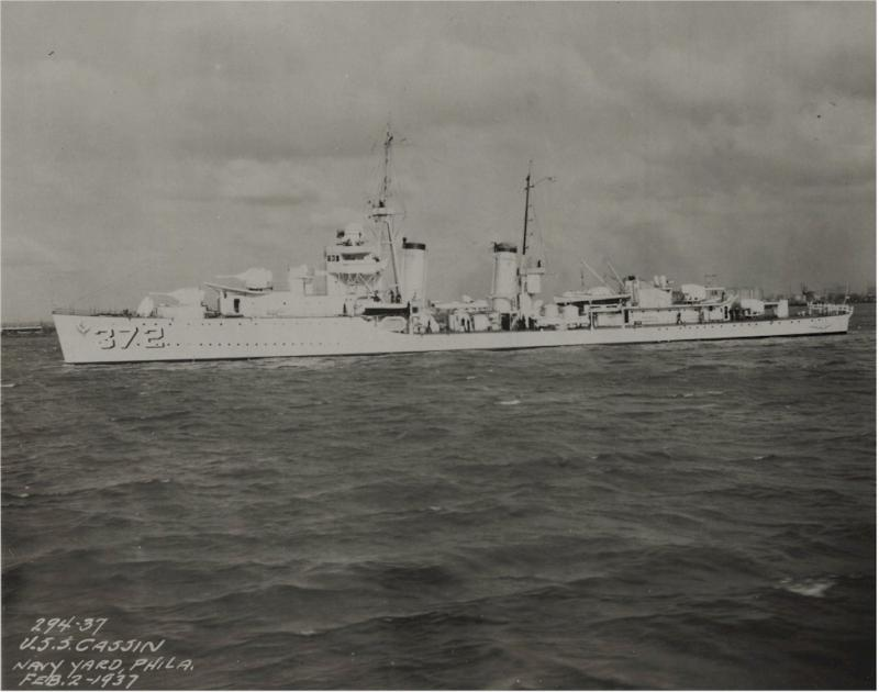 USN DESTROYERS CLASSE MAHAN 778726USSCassin1937