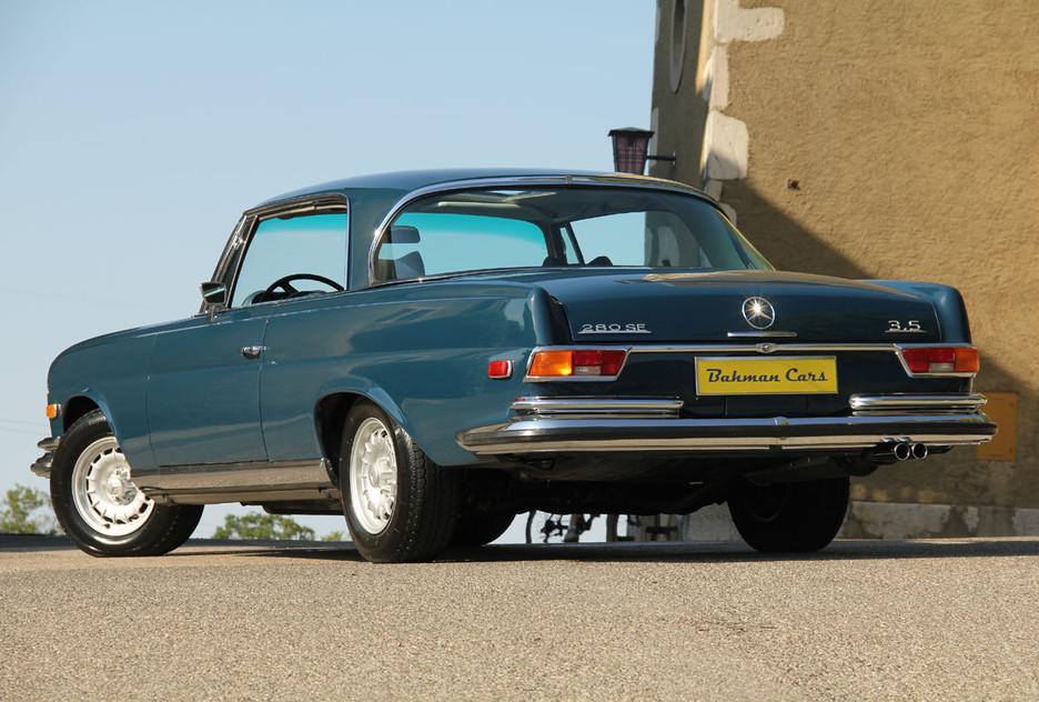 une splendide et magnifique Mercedes-Benz w111 coupé vendue par Bahman Cars - Page 2 779848mbw1110030