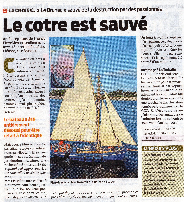 [Activité hors Marine des ports] LE CROISIC Port, Traict, Côte Sauvage... - Page 8 781698leBrunecleCroisic