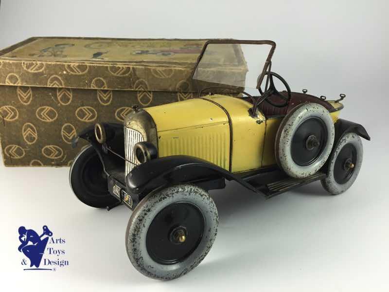 Citroën 5HP Torpédo 1923 - 1926 au 1/10ème de France-jouet       sur ponts-trans HSP Kulak 1/18ème    7844075HP1930IMG2137ready