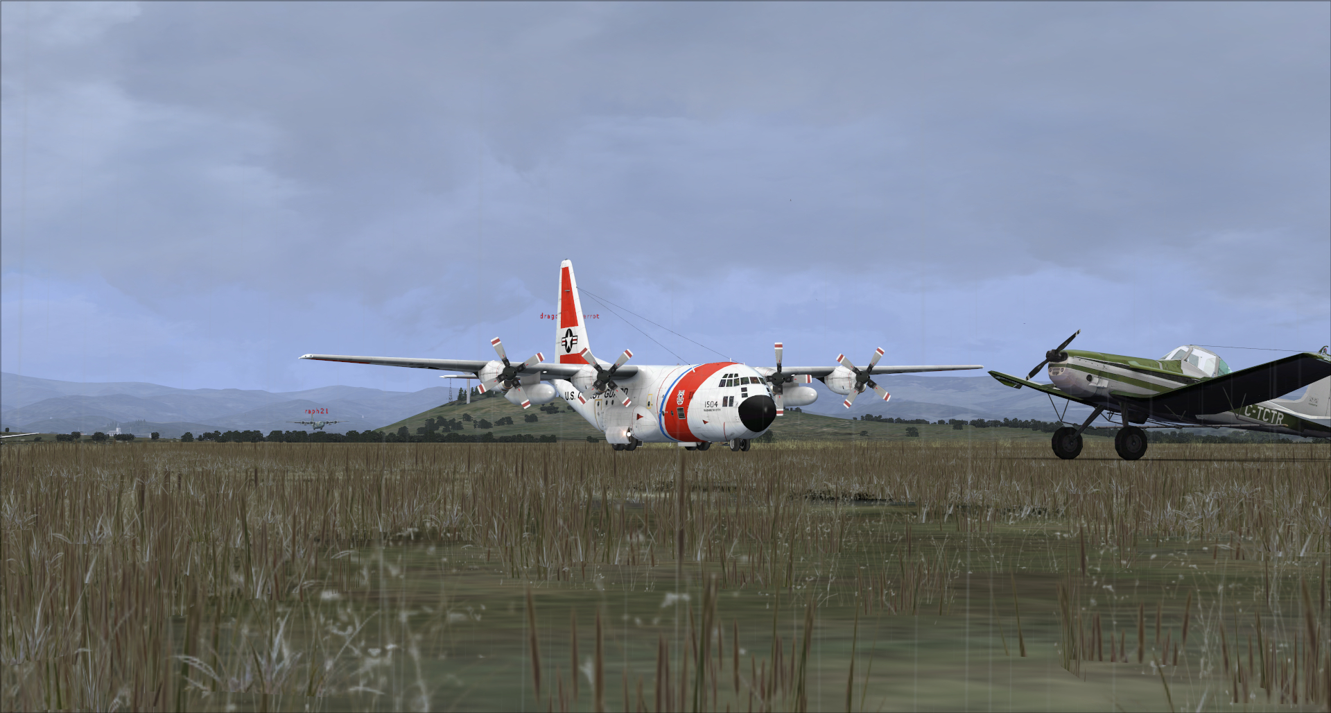 Compte rendu vol réseau en c130 captain sim 7853392014113151450722