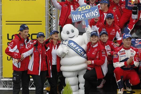 WRC Rallye d'Espagne 2012 :Victoire de Sébastien Loeb et Daniel Elena 7864922012rallyeespagnemichelin