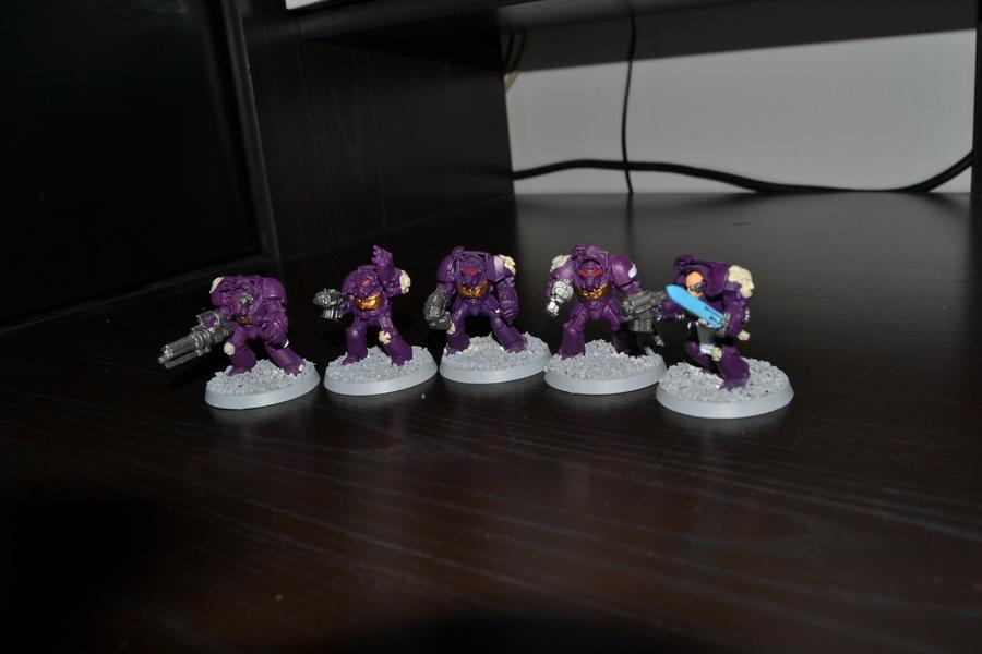 Les Purple Knight 786673WH40K020