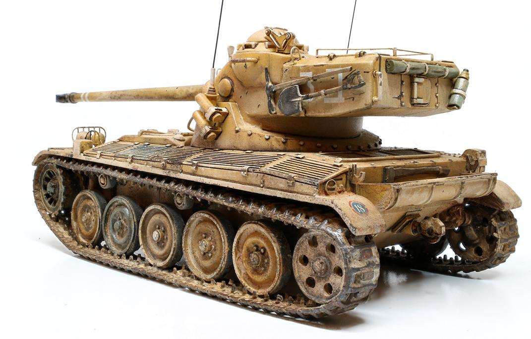 AMX 13   75mm 1/48 gaso-line 786717amx13md07wb