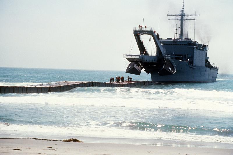 LANDING SHIP TANK (LST) CLASSE NEWPORT  787642USSSanBernardinoLST11892