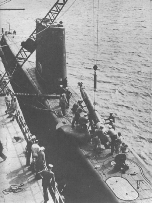 SOUS MARIN NUCLEAIRE D'ATTAQUE USS NAUTILUS 788461USSNautiluschargementtorpille