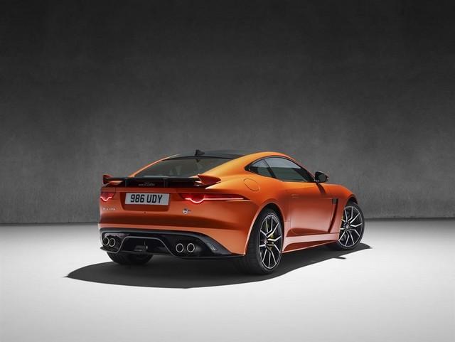 Nouvelle Jaguar F-TYPE SVR : La Supercar Capable D'atteindre 322 km/h Par Tous Les Temps 789354JAGUARFTYPESVR41COUPEStudioLowRes