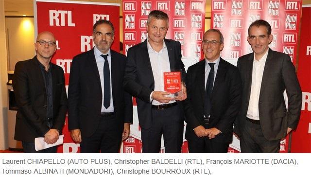 Nouveau Dacia Duster : Star du salon de Francfort au Grand Prix Auto Plus RTL  791008211972122017NouveauDaciaDusteraugrandprixAutoPlusRTL