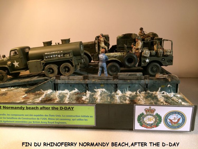 Rhinoferry D12 Normandy Beach(after the D-DAY) 792140finrhinoferry047