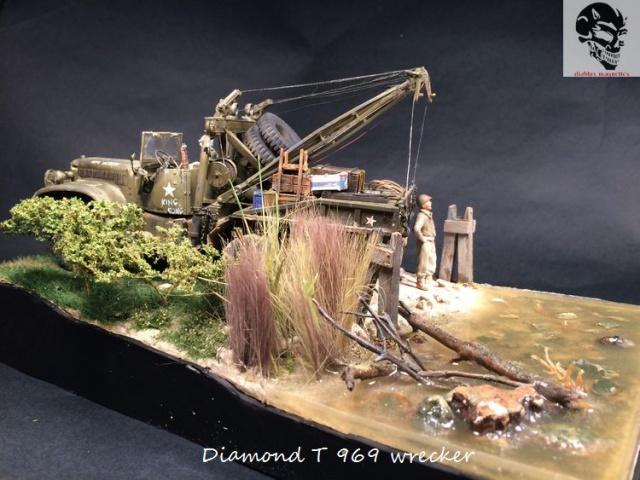 Réhabilitation du dio Diamond T969 Wrecker (Mirror Model 1/35) 792237IMG5005