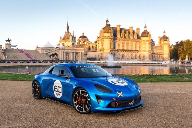 Alpine Célébration reçoit un prix spécial du jury au concours d'élégance de Chantilly 7926347135116