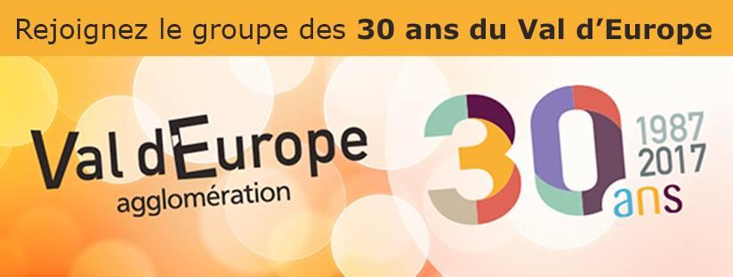"Val d'Europe agglomération ouvre le groupe ""30 ans du Val d'Europe"" 7931461587198514862040147310981069894831982264460n"