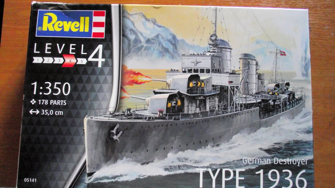 Destroyer 1936 1x350 Revell 793584Destroyer2