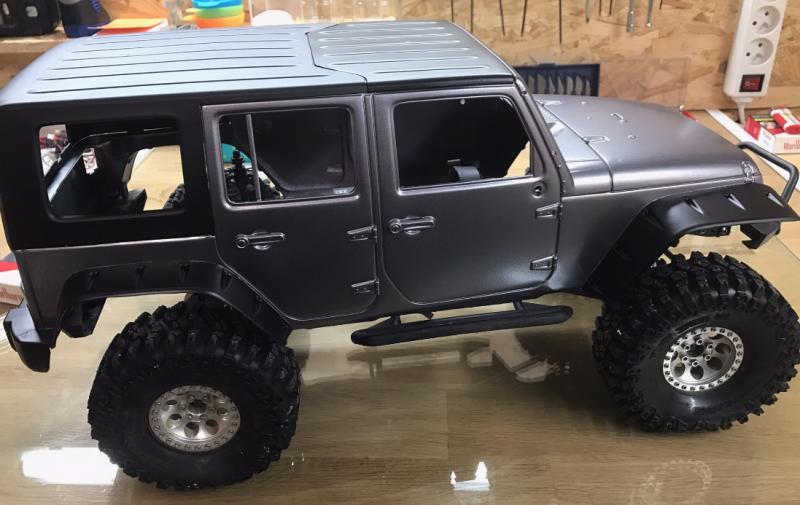 Jeep Rubicon Wraith New Bright 7943788224
