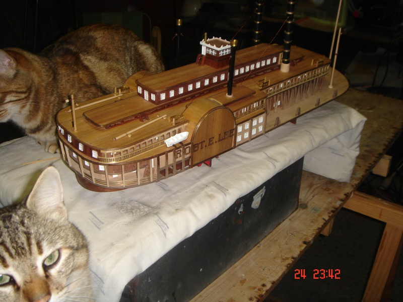 Bateau vapeur Robert E. Lee 1866 (Constructo 1/48°°) de Henri 794536DSC06821