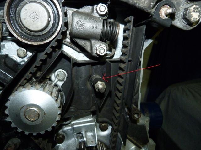 TUTO , remplacement kit distribution et pompe a eau 796195P1130854