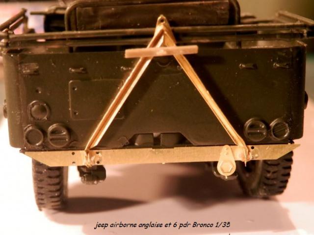 jeep indochine - 6 pdr ,jeep ,équipage airborne Bronco 1/35 (sur la route de Ouistreham) 796493P5030425