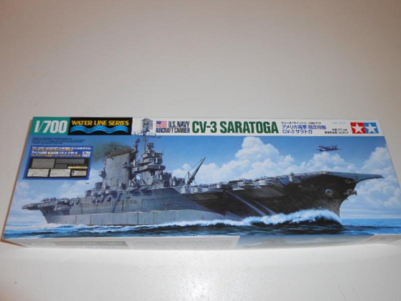 Saratoga CV3 au 1/700 de Tamiya par lionel 45 797876001