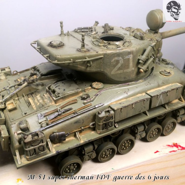 M-51 Super Sherman IDF - Academy 1/35 798633IMG4901