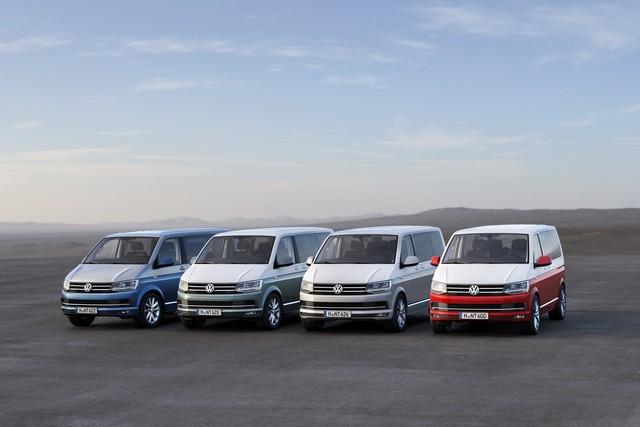 Transporter, Caravelle Et Multivan - La Sixième Génération 799484hd20150407vr005