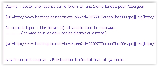 Comment insérer des images dans vos posts 801288ScreenShot005