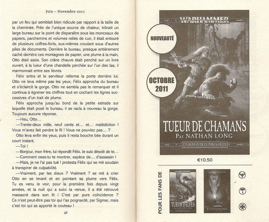 Tueur de Shamans de Nathan Long 802069Tueurdechamans2