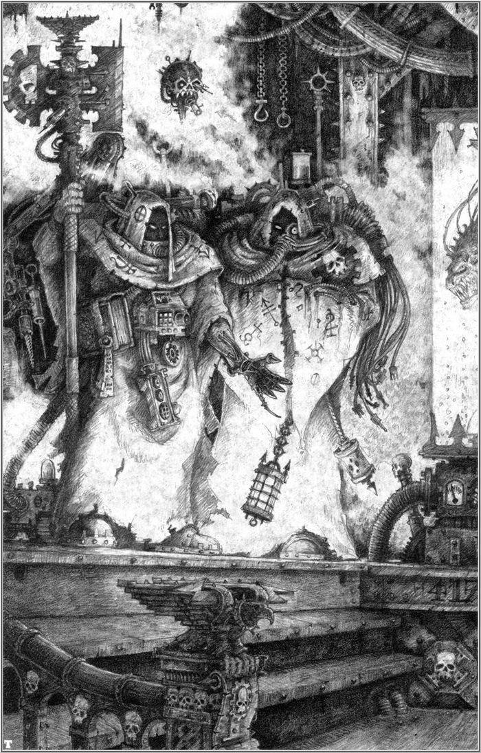La Volonté de l'Empereur de John Blanche (Art Book) - Page 2 802961Blanche12