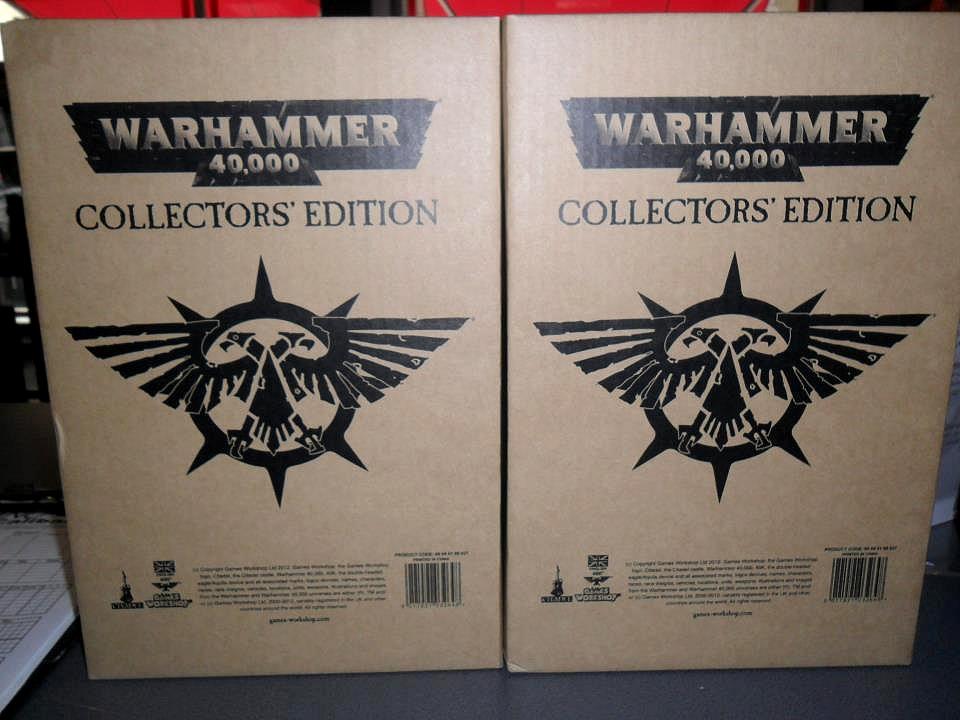 Le Livre de Règles de Warhammer 40,000 - V6 (Topic officiel) - Page 6 803049collectorsedition